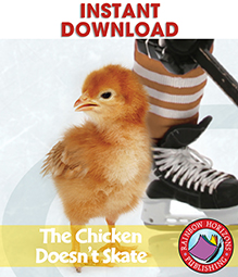 The Chicken Doesn't Skate (Novel Study) Gr. 5-6 - eBook
