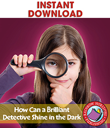 How Can a Brilliant Detective Shine in the Dark? (Novel Study) Gr. 4-7 - eBook