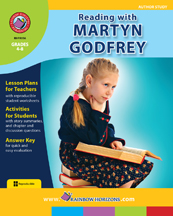 Reading with Martyn Godfrey (Author Study) Gr. 4-8 - print book