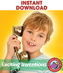Exciting Inventions Gr. 4-8 - eBook
