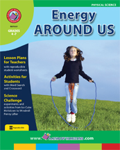 Energy Around Us Gr. 4-7 - print book