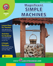 Magnificent Simple Machines Gr. 4-7 - print book