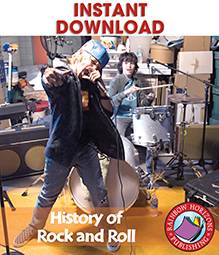 History Of Rock And Roll Gr. 6-8 - eBook