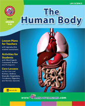 The Human Body Gr. 4-6 - print book