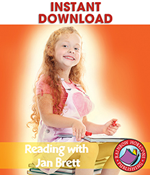 Reading with Jan Brett (Author Study) Gr. 1-2 - eBook