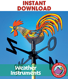 Weather Instruments: Rain Gauges, Barometers, Humidity & Thermometers Gr. 1-3 - eBook