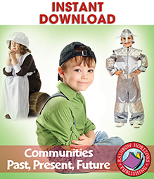 Communities: Past, Present, Future Gr. 2-3 - eBook