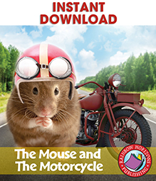 The Mouse and The Motorcycle (Novel Study) Gr. 3-4 - eBook