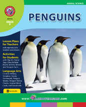 Penguins Gr. K - print book