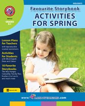 Favourite Storybook Activities For Spring Gr. K-1 - print book
