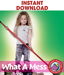 What A Mess Gr. PK-1 - eBook
