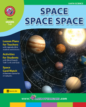 Space Space Space Gr. 1-3 - print book