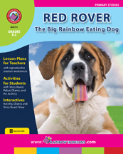 Red Rover, the Big Rainbow Eating Dog Gr. K-2 - print book