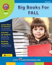 Big Books For Fall Gr. K - print book
