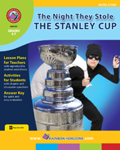 The Night They Stole The Stanley Cup (Novel Study) Gr. 4-7 - print book