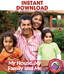 My House, My Family and Me Gr. K-1 - eBook