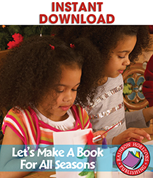 Let's Make A Book For All Seasons Gr. 1-2 - eBook