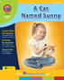 A Cat Named Sunny (Novel Study) Gr. 3-4 - print book