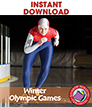 Winter Olympic Games Gr. 4-6 - eBook