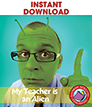 My Teacher Is An Alien (Novel Study) Gr. 4-7 - eBook
