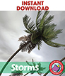 Storms: Hurricanes, Tornadoes, Blizzards & Drought Gr. 1-3 - eBook