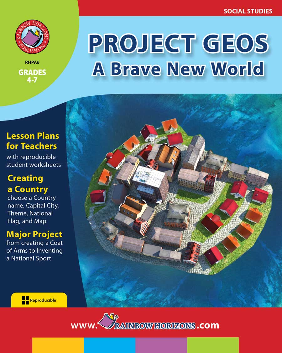 Project Geos: A Brave New World Gr. 4-7 - print book