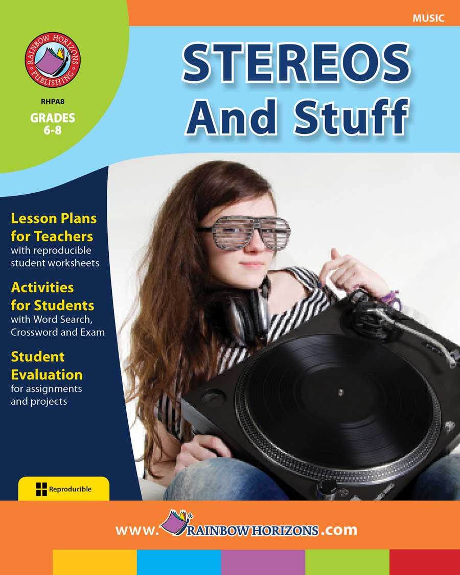 Stereos And Stuff Gr. 6-8 - print book