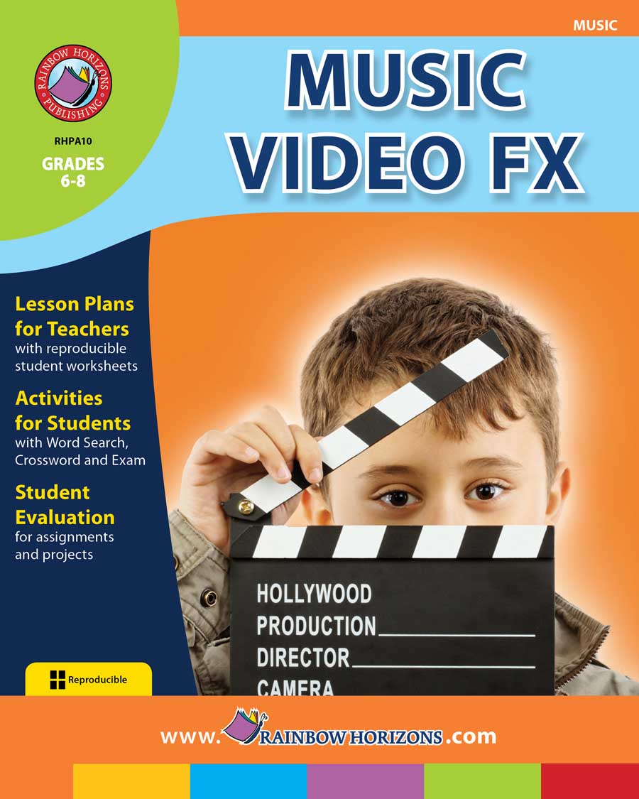 Music Video FX Gr. 6-8 - print book