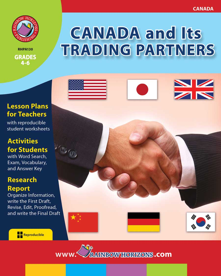 Canada And Its Trading Partners Gr. 4-6 - print book