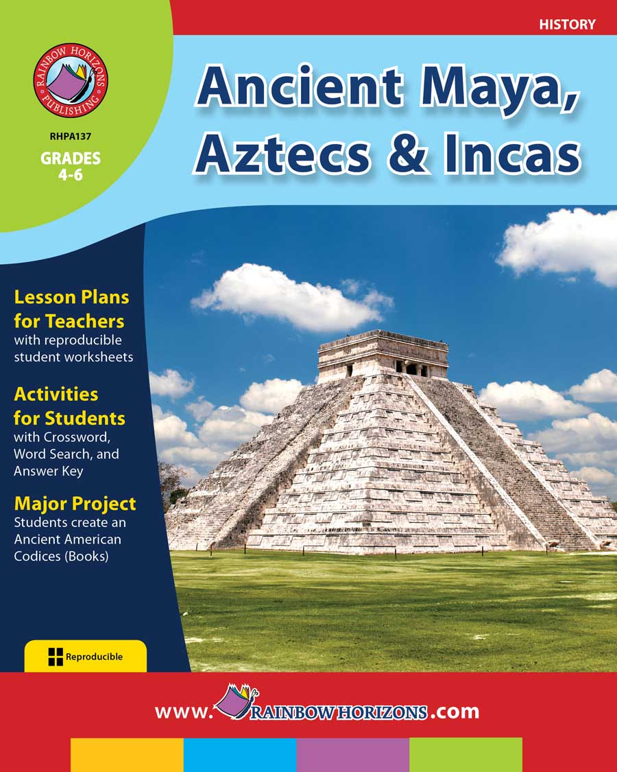 Ancient Maya, Aztecs & Incas Gr. 4-6 - print book