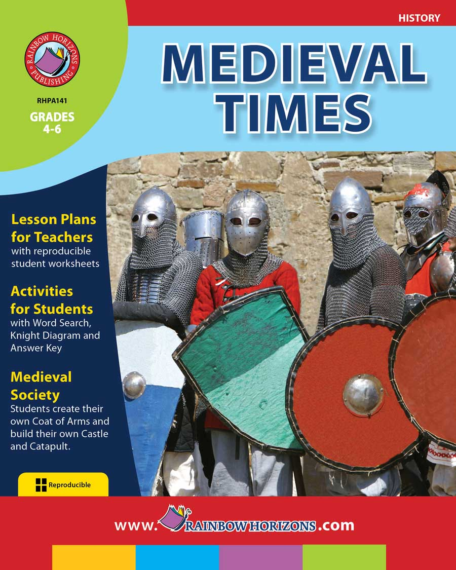 Medieval Times Gr. 4-6 - print book