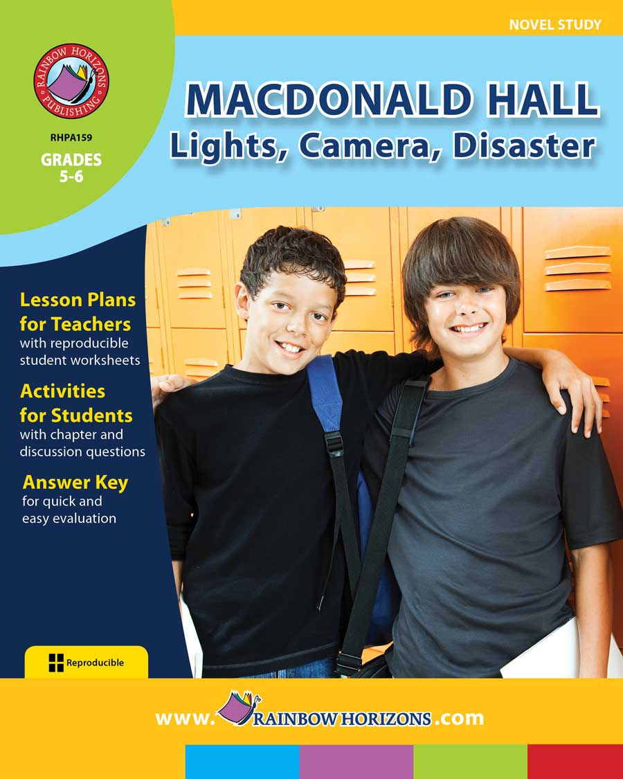 Macdonald Hall: Lights, Camera, Disaster (Novel Study) Gr. 5-6 - print book