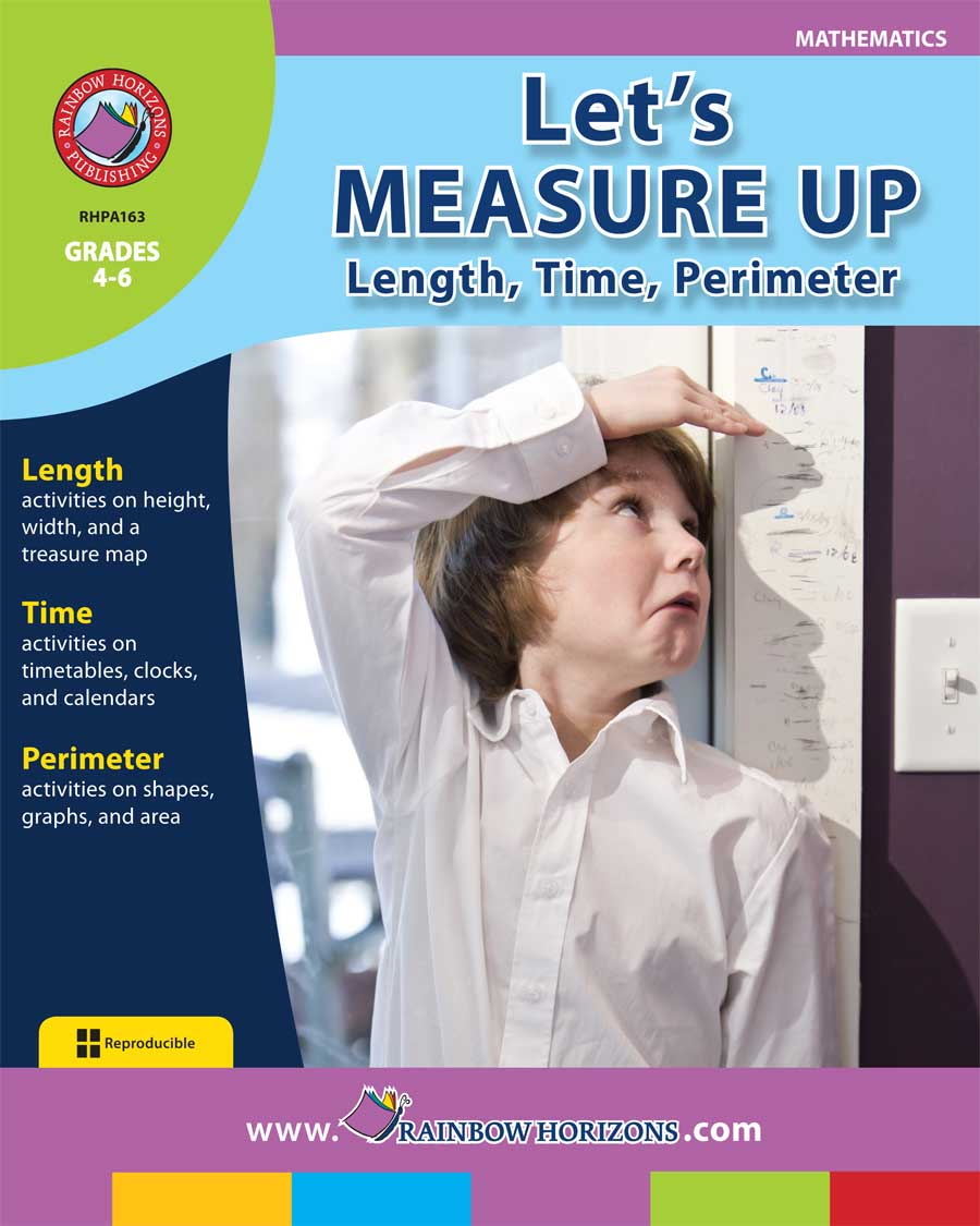 Let's Measure Up: Length, Time, Perimeter Gr. 4-6 - print book