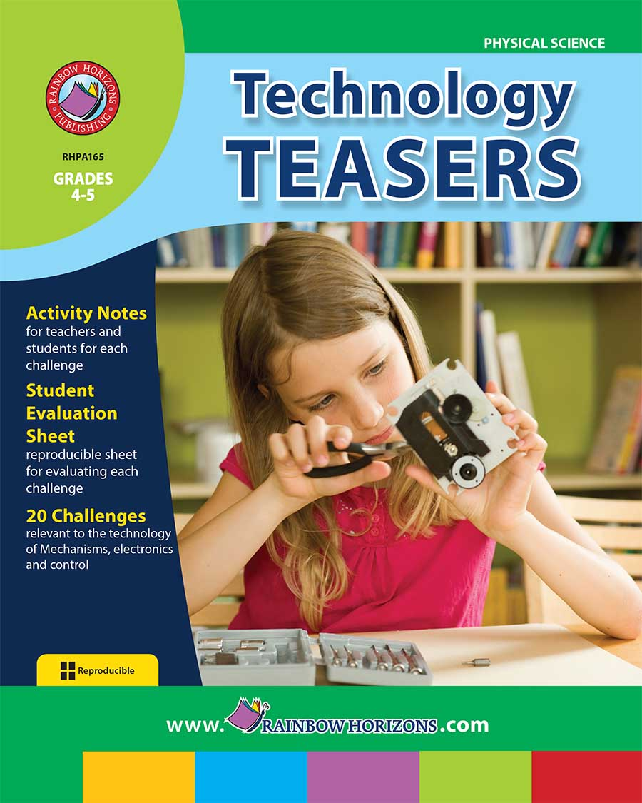 Technology Teasers Gr. 4-5 - print book