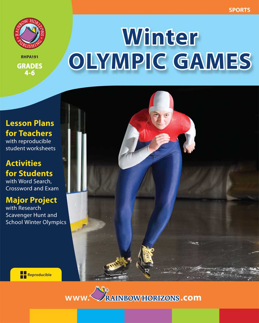 Winter Olympic Games Gr. 4-6 - print book