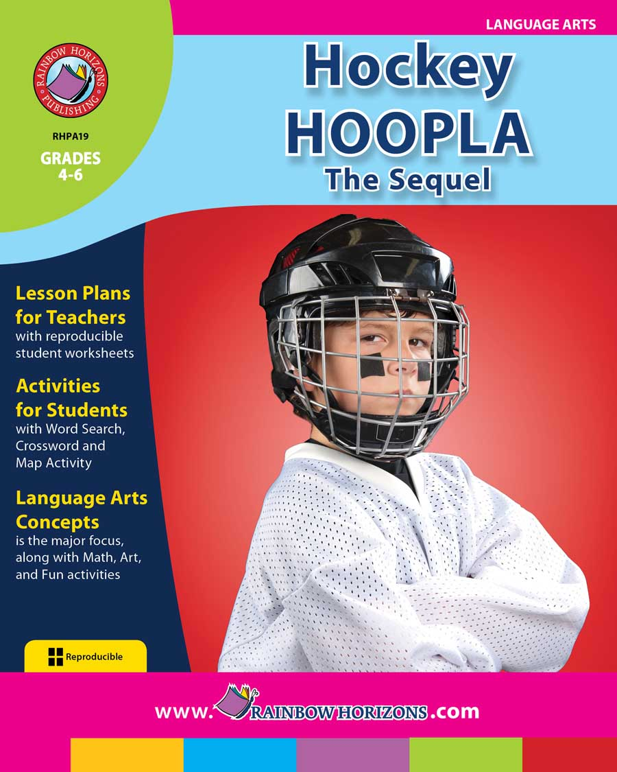 Hockey Hoopla: The Sequel Gr. 4-6 - print book