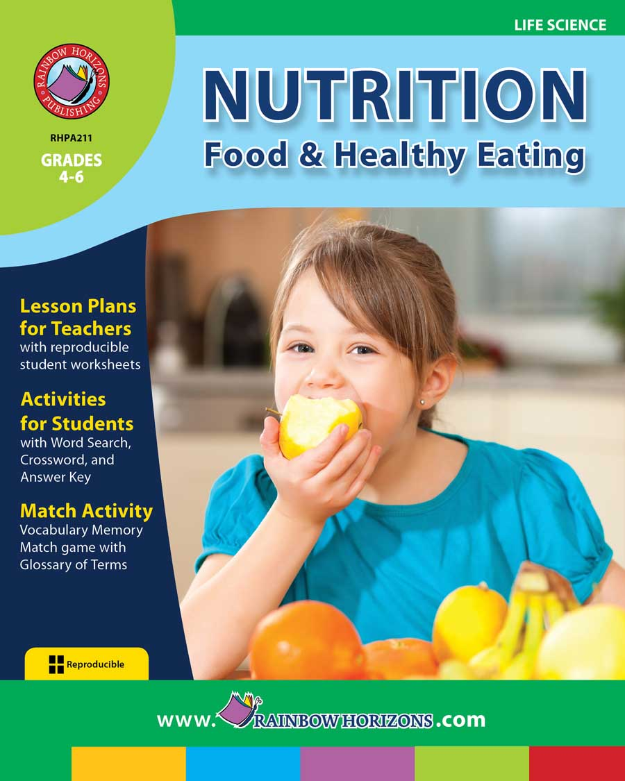 Nutrition: Food & Healthy Eating Gr. 4-6 - print book