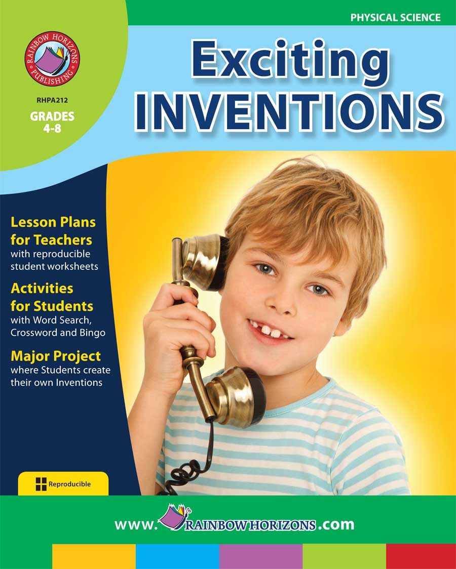 Exciting Inventions Gr. 4-8 - print book