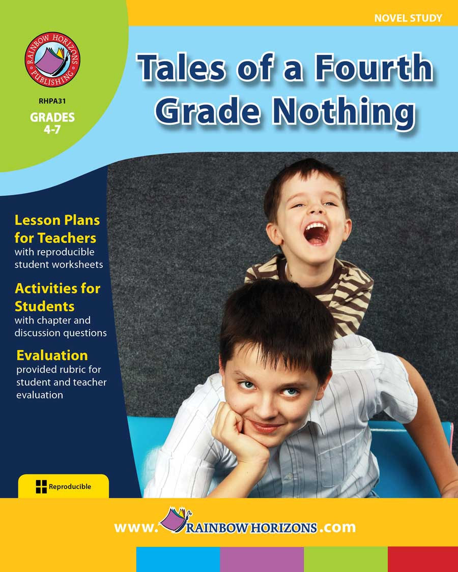 Tales of a Fourth Grade Nothing (Novel Study) - Grades 4 to