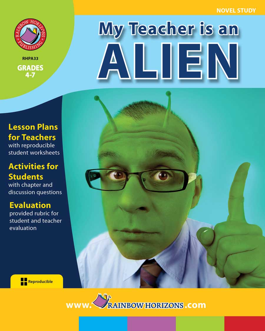 My Teacher Is An Alien (Novel Study) Gr. 4-7 - print book