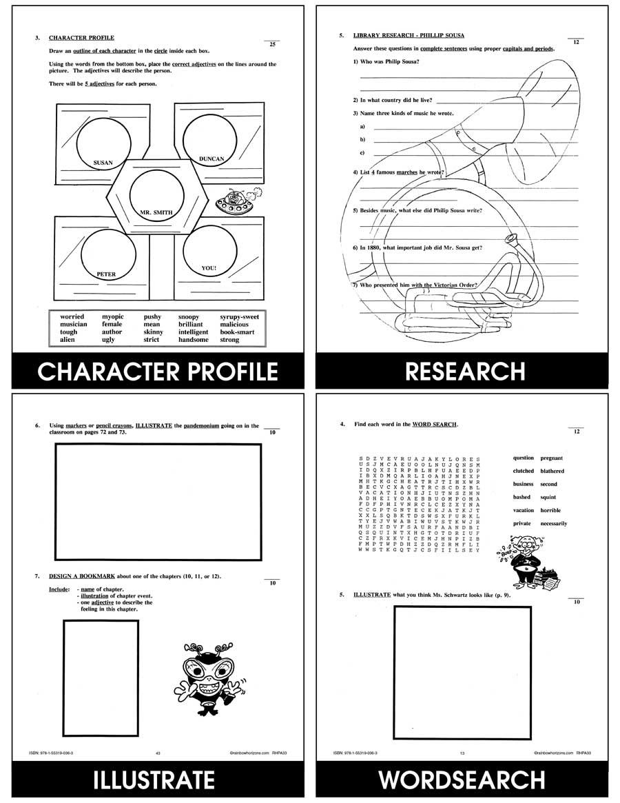 My Teacher Is An Alien (Novel Study) - Grades 4 to 7 - Print