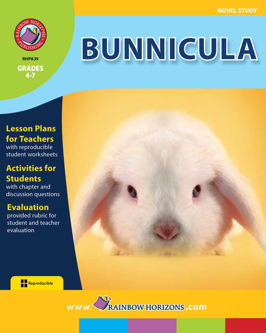 Bunnicula (Novel Study) Gr. 4-7 - print book