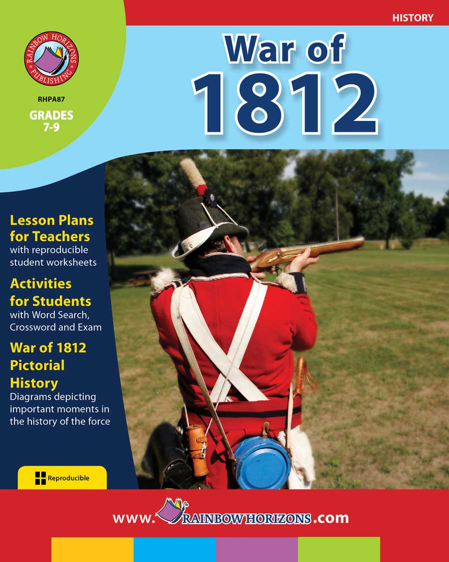 War of 1812 Gr. 7-9 - print book