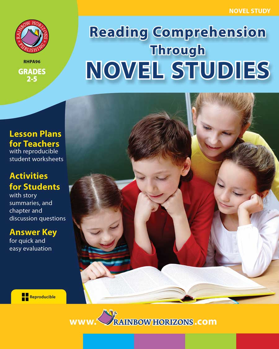 Reading Comprehension Through Novel Studies Gr. 2-5 - print book