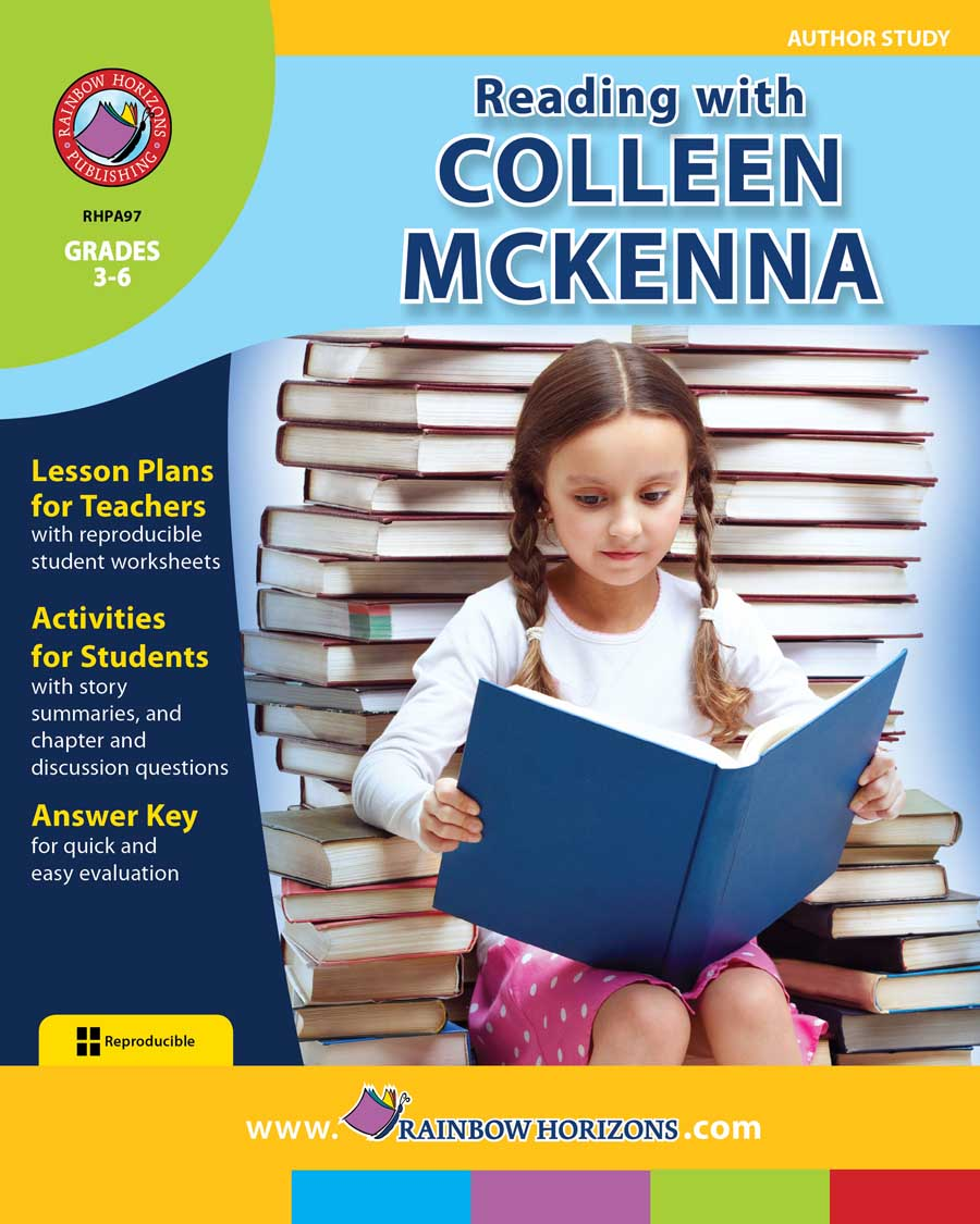 Reading with Colleen McKenna (Anthor Study) Gr. 3-6 - print book