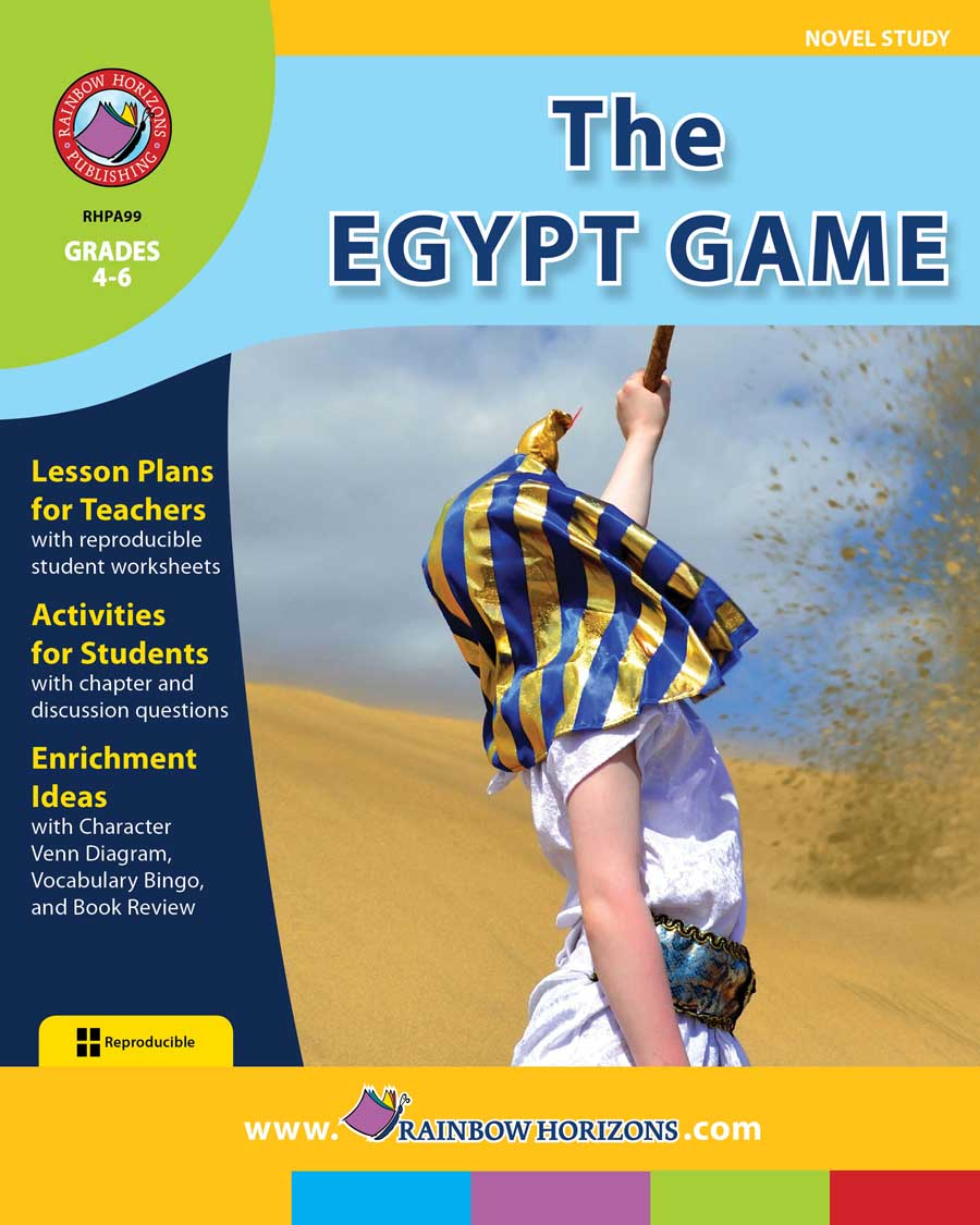 The Egypt Game (Novel Study) Gr. 4-6 - print book