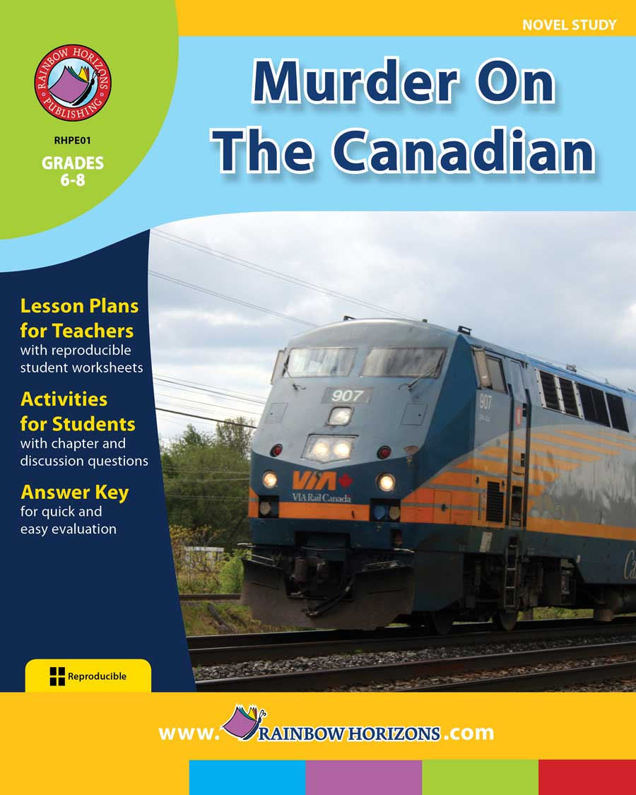 Murder On The Canadian (Novel Study) Gr. 6-8 - print book