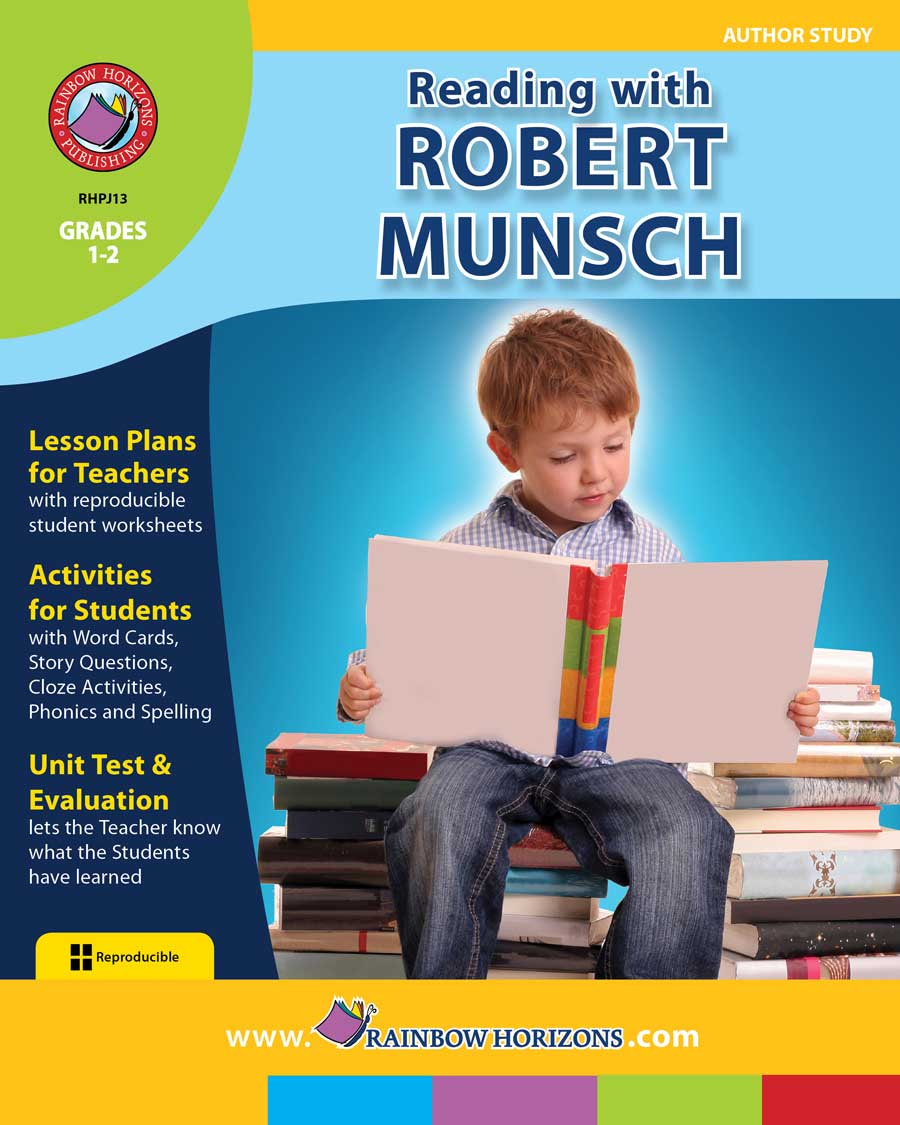 Reading with Robert Munsch (Author Study) Gr. 1-2 - print book