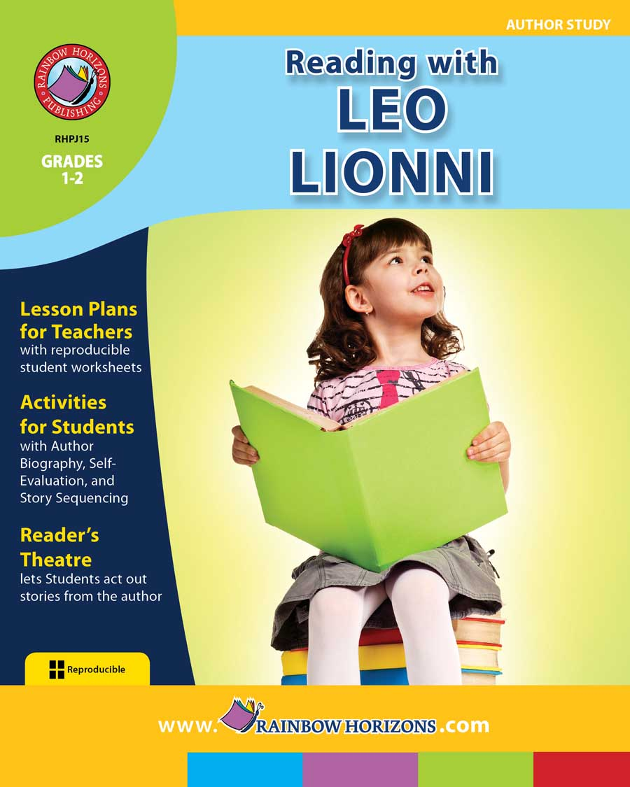 Reading with Leo Lionni (Author Study) Gr. 1-2 - print book