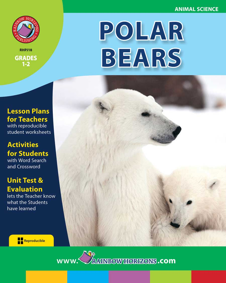 Polar Bears - Grades 1 to 2 - Print Book - Lesson Plan - Rainbow ...